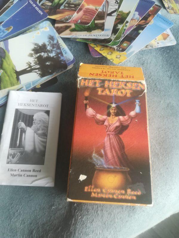 Het Heksen tarot, Ellen Cannon Reed heksig wendy de rooy