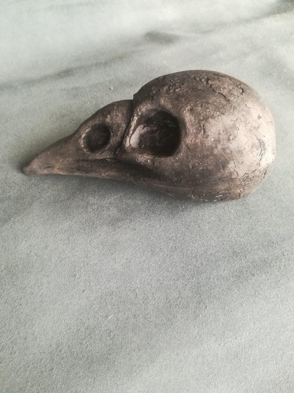bird skull nr2 mascha malenstein