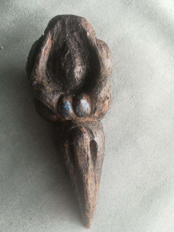 bird skull mascha malenstein